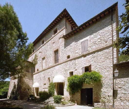 La Rocca di Mantignana: edificio principale