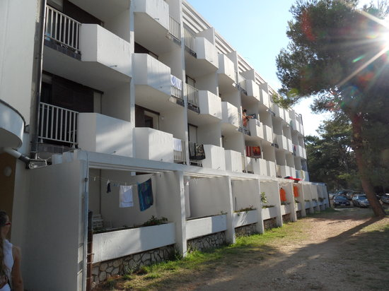 "Lopar, Kroatien:                                     una ""fantastica"" vista dell'hotel..."