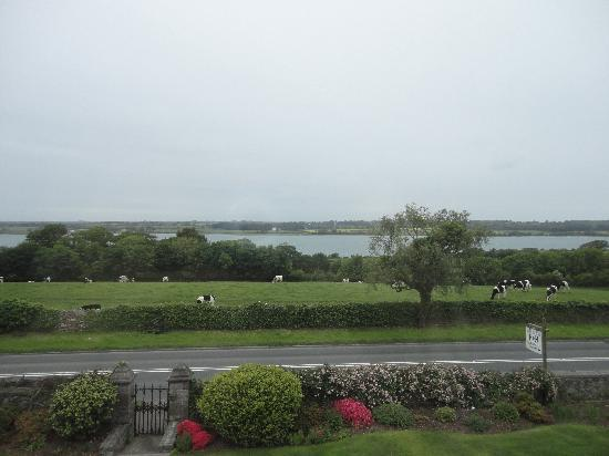 Tal Menai Guest House: view from our bedroom