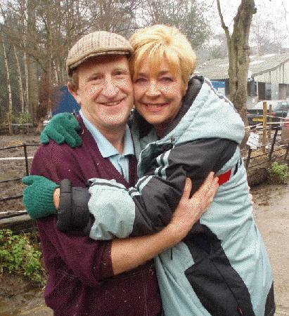Hennigan's Heritage Centre: Tom with Corrie star Ann Kirkbride