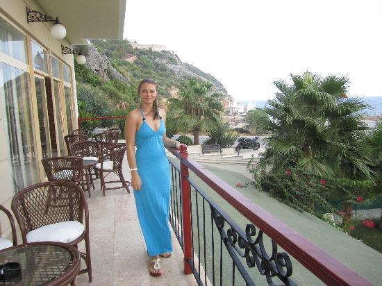Rheme Beach: balcony at the hotel