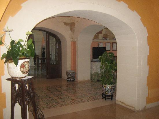 Hotel Villa Rosa Antico: de hal bij binnenkomst, mooi