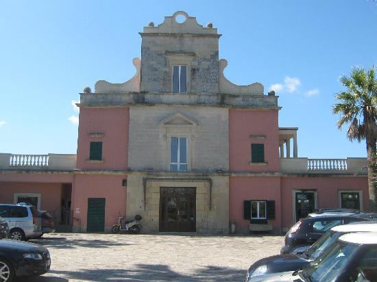 Hotel Villa Rosa Antico: het hotel, prachtig en indrukwekkend