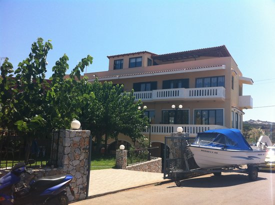 Hotel Apartments Gramvoussa Bay: Hotellet