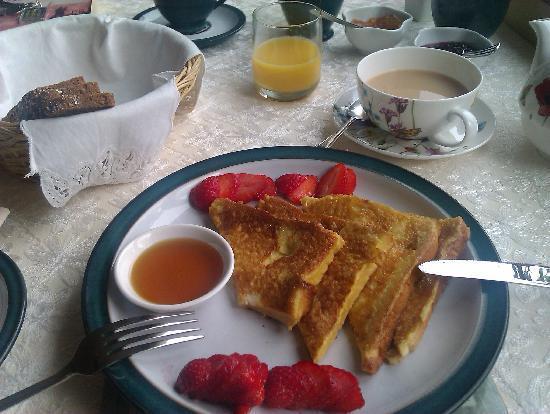 Cappa Veagh Bed & Breakfast: Breakfast