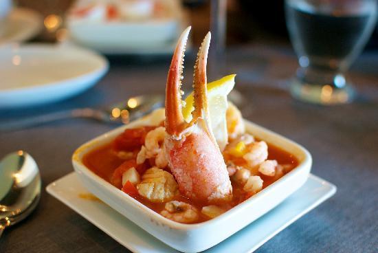 Restaurant Le Sieur de Pabos: Seafood Soup