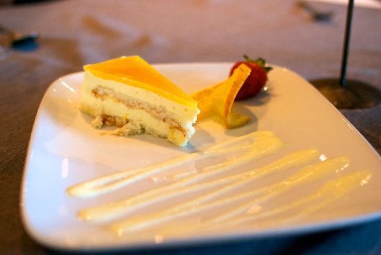 Restaurant Le Sieur de Pabos: Cheesecake