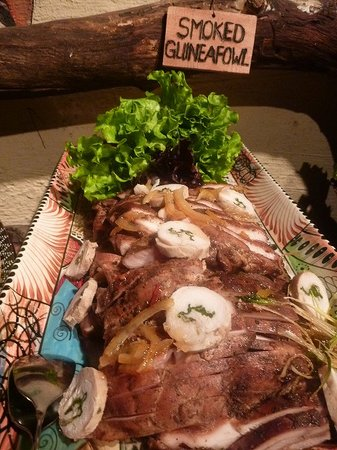 The Boma - Dinner & Drum Show: ~ スモークホロホロ鳥 ~
