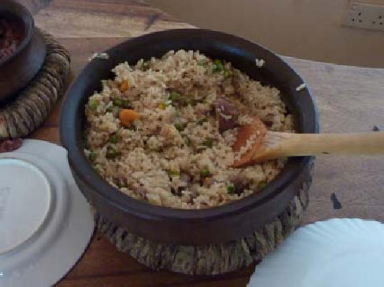 Christina House & Mini Lodge: local food