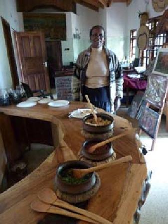 Christina House & Mini Lodge: restaurant