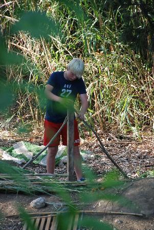 El Molino Santisteban: Hutten bouwen aan de rivier
