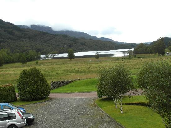 Loch Achray Hotel: The view from our room