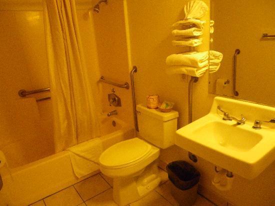 Seaview Inn: la salle de bain
