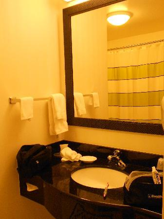 Fairfield Inn & Suites by Marriott Santa Maria: Badkamer 2