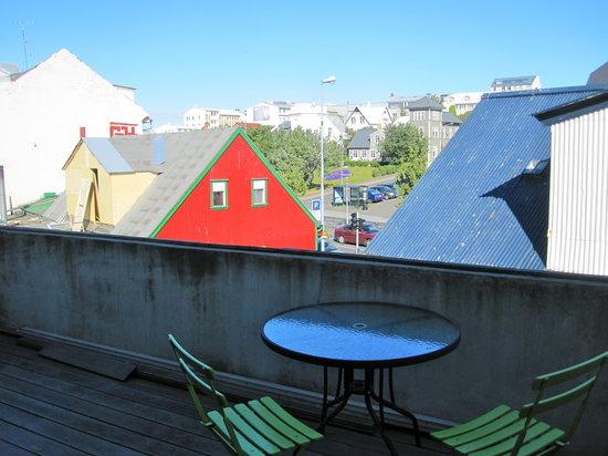 Skolabru Guesthouse: Balcony