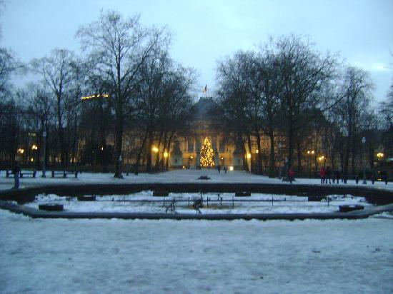 Parc de Bruxelles: Parque de Bruselas, Bélgica.