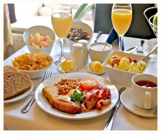 Waterloo Lodge: Breakfast