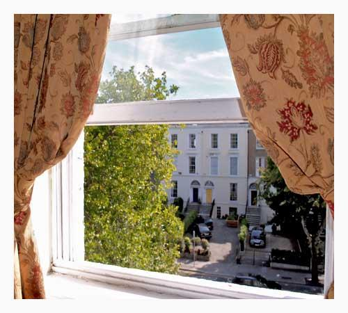 Waterloo Lodge: View