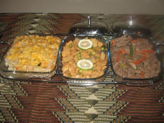 Nzipile Executive Guest House : Fabulous Friday Evening Menu