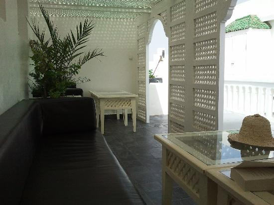 Riad Malaika : terrasse