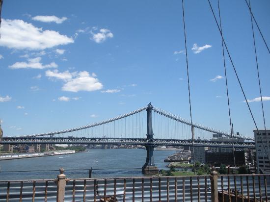 สะพานบรู๊คลิน: Vista desde el Puente Brooklyn