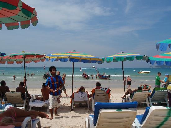 Rendez Vous Hotel : la plage.