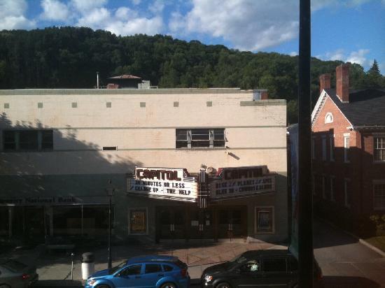 Capitol Plaza: Movie Theateer right across the street.
