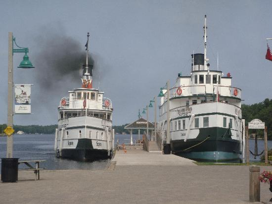 Muskoka Steamships : The Steamships