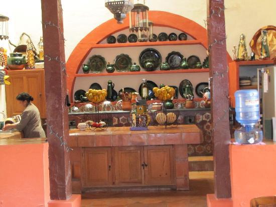 Hotel Casa Encantada: La cuisine