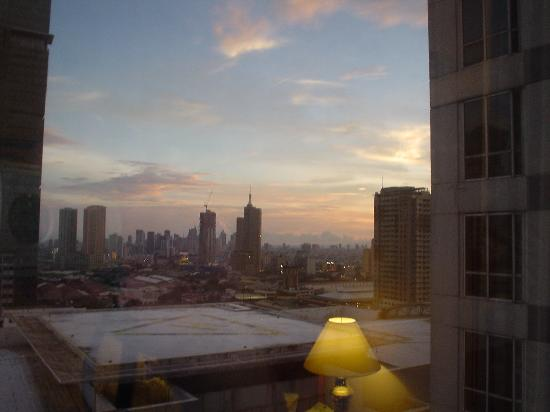 Richmonde Hotel Ortigas: view from hotel room