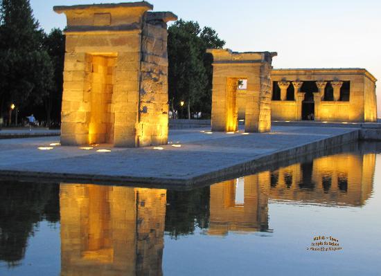 Hostal Buenos Aires: Madrid, Egyptian Templo de Debod