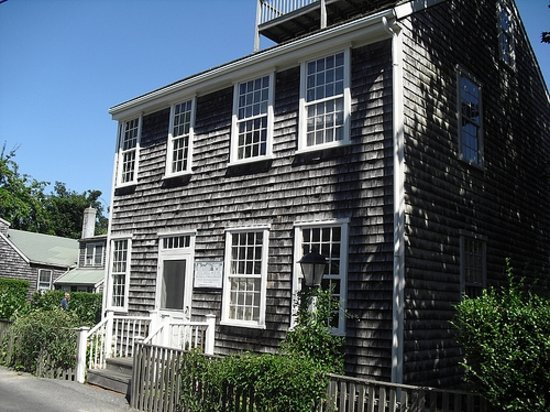 Maria Mitchell Association: The Historic Mitchell House, Birthplace of Maria Mitchell.