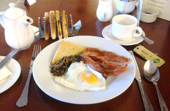 Lostwithiel Hotel Golf & Country Club: My Breakfast.
