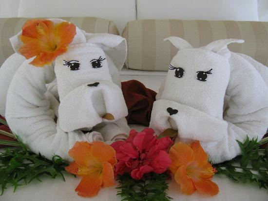 Amorita Resort: towel stuff toys! - soooo love it!