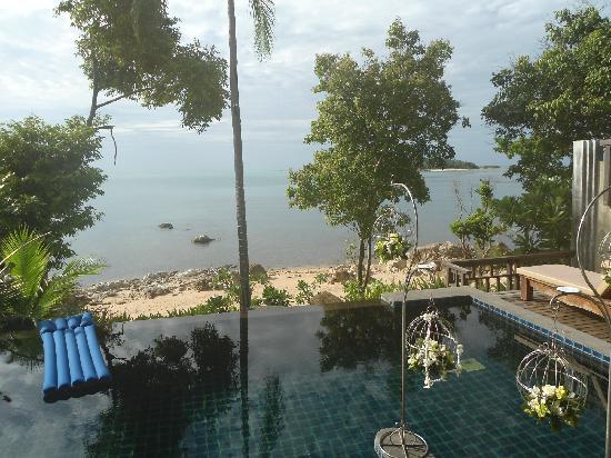 Nora Buri Resort & Spa: Aussicht von der Poolvilla