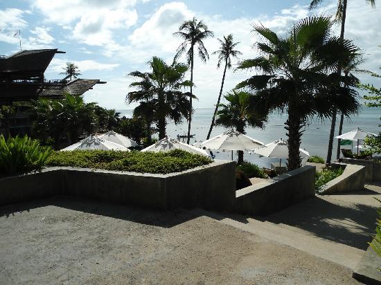 Nora Buri Resort & Spa: Pool für die unteren Villen
