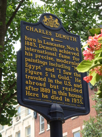 Demuth Museum: Charles Demuth Sign Info