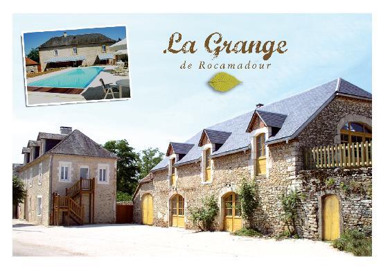 La Grange de Rocamadour : vue générale