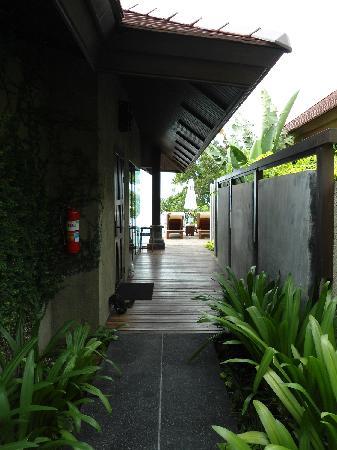 Nora Buri Resort & Spa: Eingangsbereich der Villa