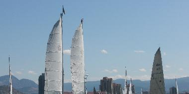 Sails - Lake Okanagan