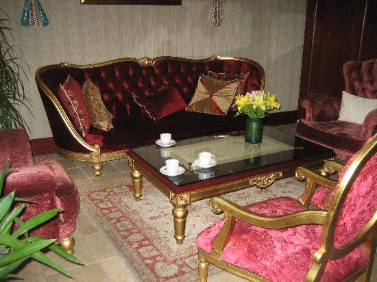 Sirkeci Mansion: The lobby