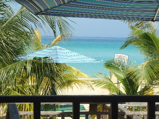 SuperClubs Rooms on the Beach Negril : View from eating area at Rooms