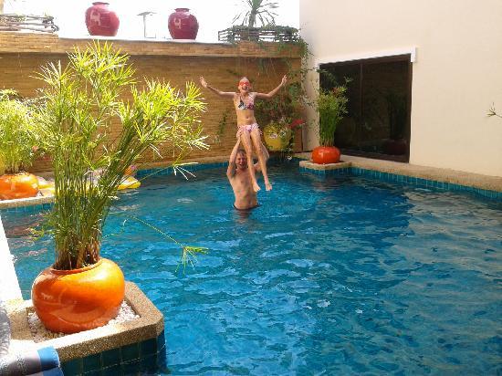Evergreen Boutique Hotel: een heerlijk zwembad