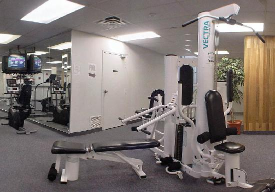 Quality Inn: Fitness centre