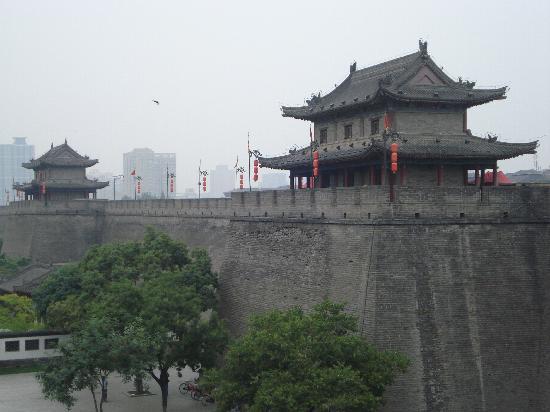 กำแพงเมืองซีอาน: le mura possenti