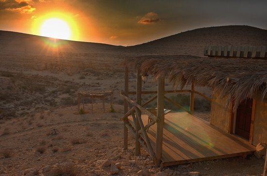 Sde Boker, Israel: Outside cabin 2