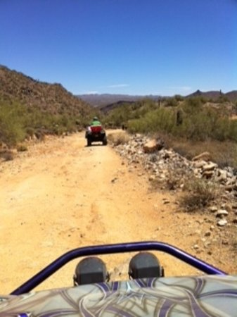 Adventures of a Lifetime ATV: ATVing in AZ Desert