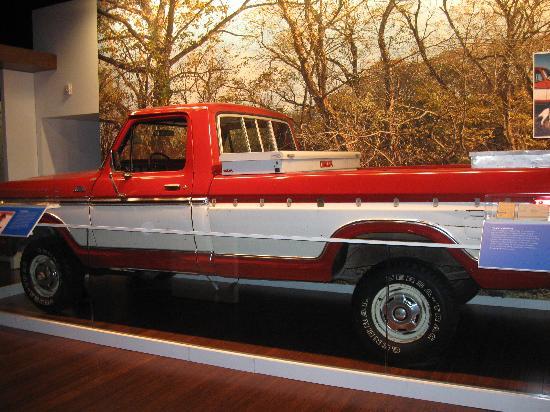 Bentonville, AR: Sam Walton's truck.