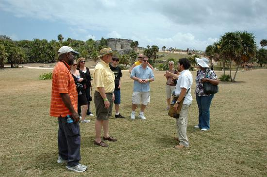 Cozumel Choice: Group in Tulum