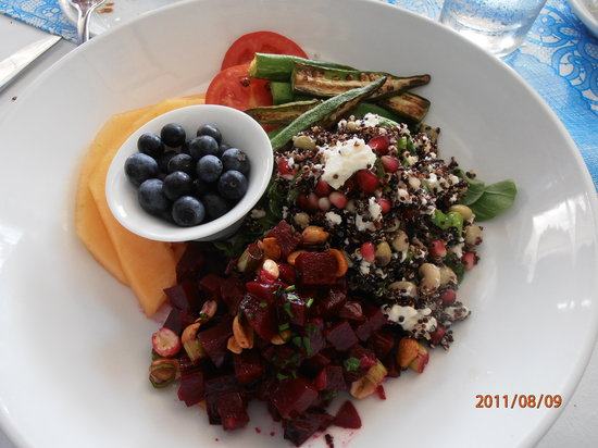 """The National Restaurant: The """"Power Lunch"""" creative, healthy and delicious."""